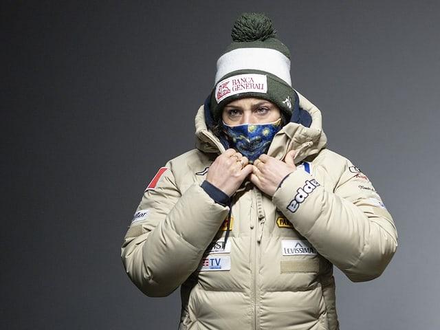 Federica Brignone kann die Massnahmen der FIS nicht verstehen.