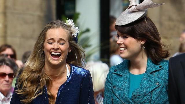 Cressida Bonas und Prinzessin Eugenie.