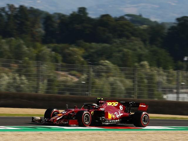 Charles Leclerc und Ferrari.