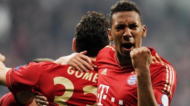 Jerome Boateng fertigte mit dem FC Bayern die Gäste aus Barcelona gleich mit 4:0 ab.
