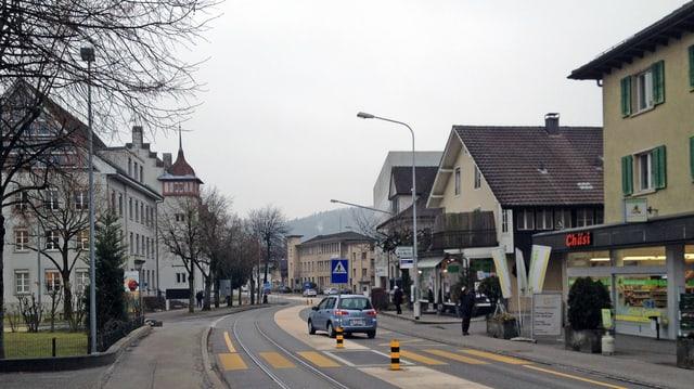 Hauptstrasse von Suhr