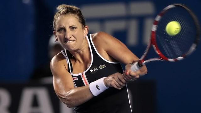 Timea Bacsinszky vi dal dar tennis.