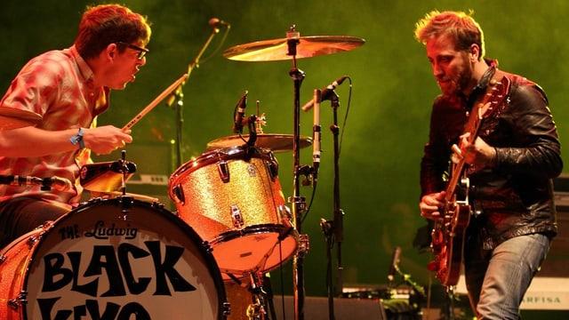 Patrick Carney und Dan Auerbach.