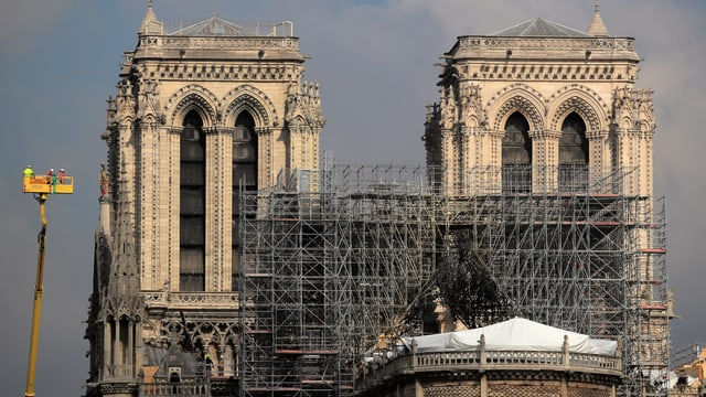 Trotz Kritik der Opposition - Renovation von Notre-Dame wird Regierungssache