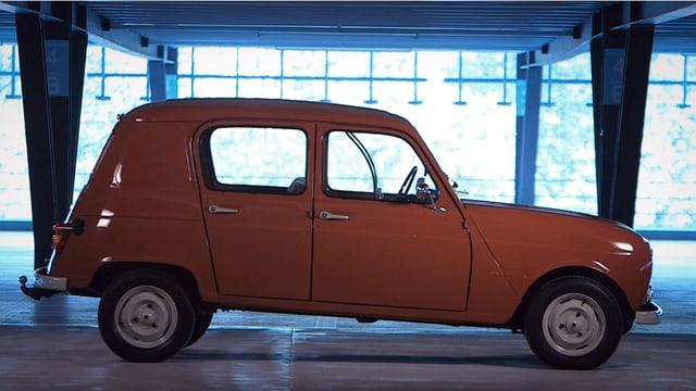 Video ««Renault 4» – Der grosszügige Franzose» abspielen