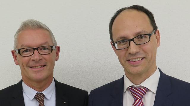 Martin Klöti und Marc Mächler