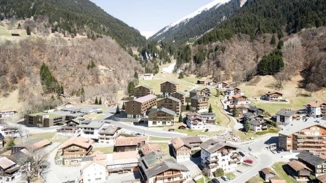 Visualisaziun dal resort Ober Ganda.