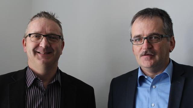 Urban Eyer und Martin Rittiner