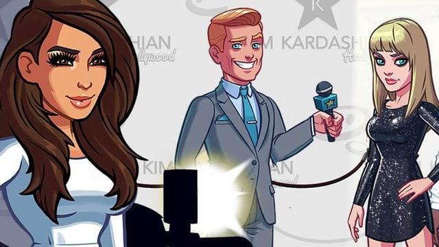 Titelbild des Games «Kim Kardashian: Hollywood»