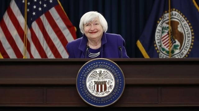 Janet Yellen, Ex-US-Notenbank-Chefin.
