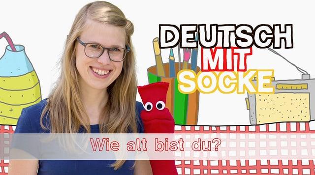 Video «Deutsch mit Socke: Wie alt bist du? (2/34)» abspielen