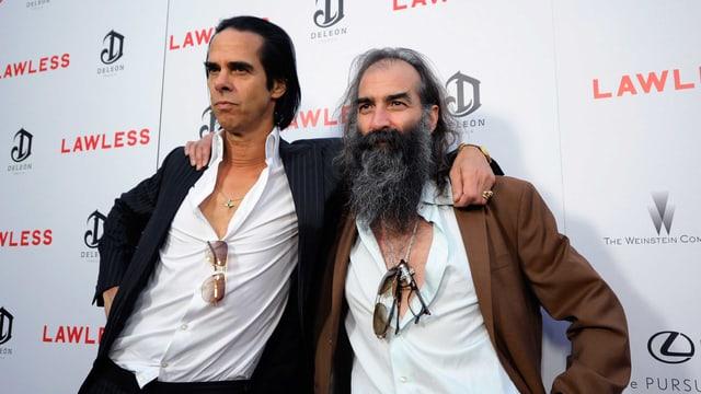Nick Cave und Warren Ellis.