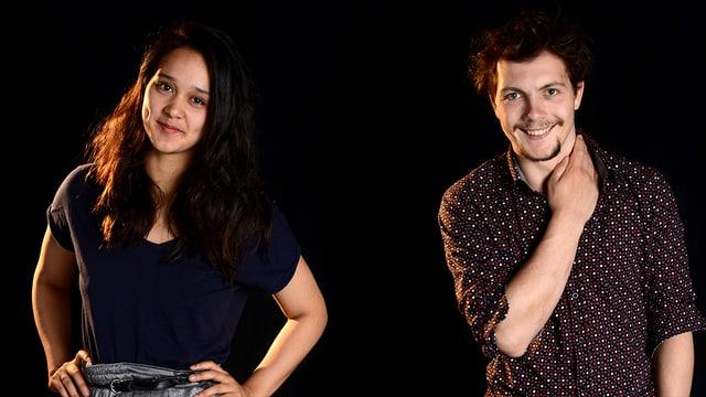 Video «Kunstblase oder Flüchtlingscamp? - Annabelle und Silvio» abspielen