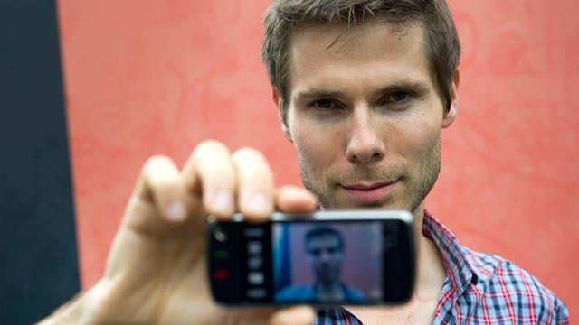 Drehte auch schon mit dem Handy einen Film: Lionel Baier.