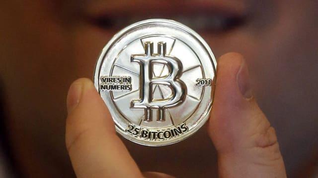 Ein Token von 25 Bitcoin.