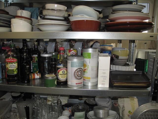 Küchenutensilien aus dem Brockenhaus