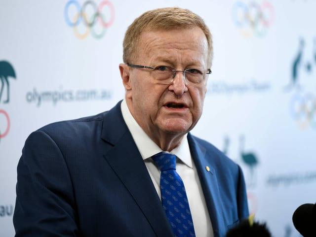 Hofft auf einen Entscheid innerhalb von 4 Wochen: John Coates, Leiter der IOC-Koordinierungskommission für die Spiele in Tokio.