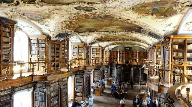 Barocksaal Stiftsbibliothek St. Gallen