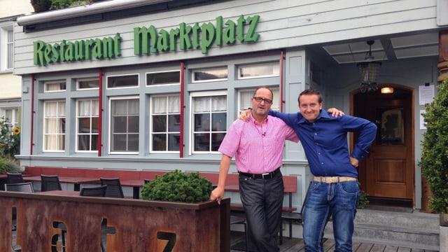 Video «Appenzellerland - Tag 2 - Restaurant Marktplatz» abspielen
