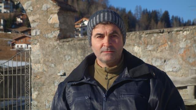 Gian Sonder, il president communal da Salouf e parsura da l'Allianza dals mastrals Surses.