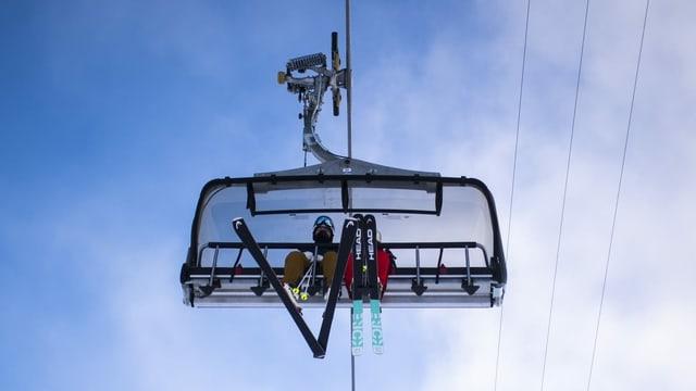 In luftiger Höhe: Klar, frische Luft tut gut. Aber ist Skifahren mitten in der zweiten Welle sinnvoll?