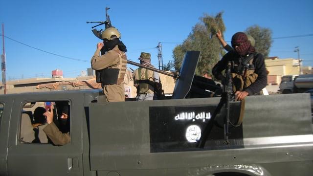 Ein IS-Transporter.