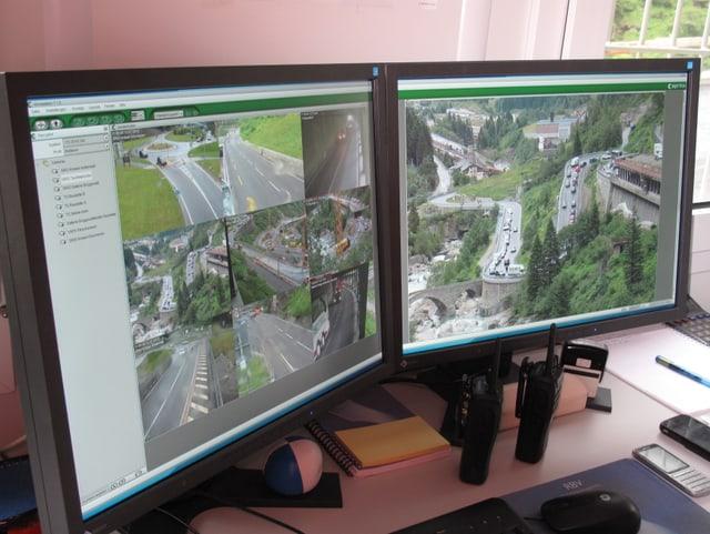 Den Verkehr - auch den der Baustellen - zu dirigieren, erfordert eine hohe Konzentration.