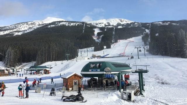 Winterliches Bild in Kanada.