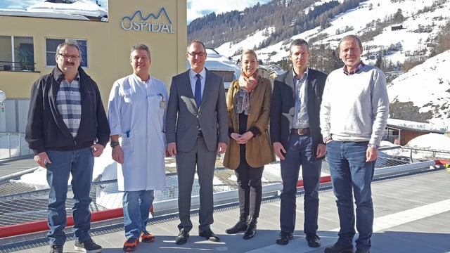 Da sanestra; Victor Peer, Joachim Koppenberg, Christian Rathgeb, Nicola Kull, Rudolf Leuthold e Philipp Gunzinger