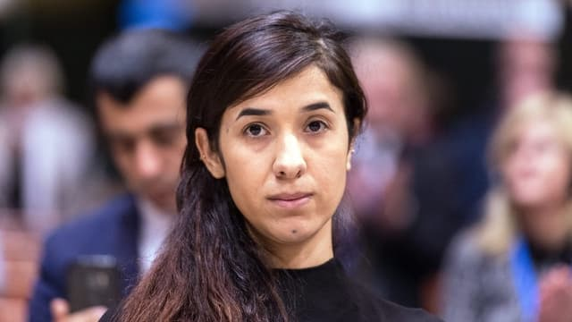 Nadia Murad, l'anteriura praschuniera dal Stadi Islamic.