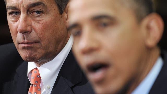 Boehner und Obama