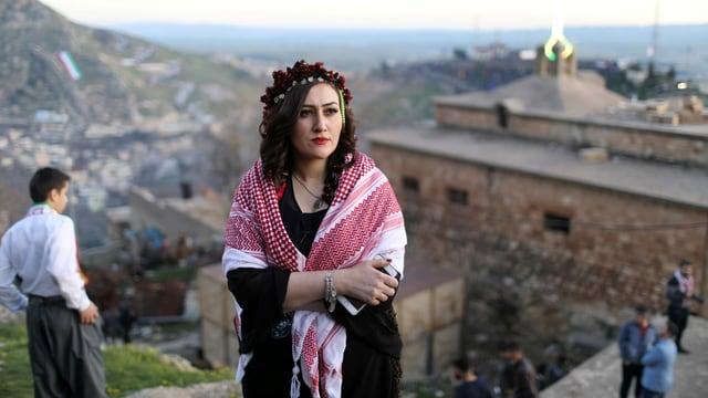 Kurden im Nordirak begehen das Nowruz-Fest