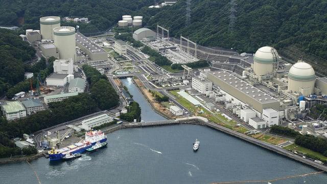 L'ovra atomara da Takahama en il Giapun