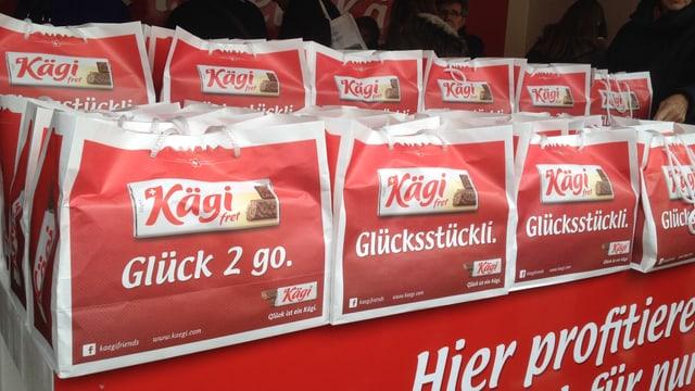 Verkaufsstand der Kägi AG an der Olma.