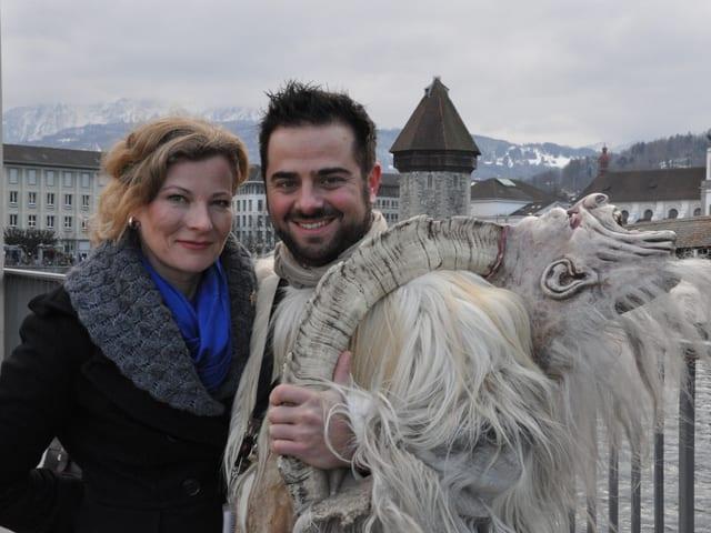 Karin Frei und Marco Thomann
