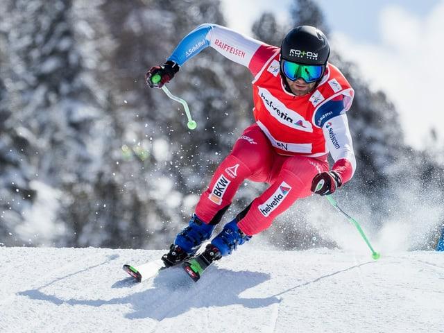Skicrosser Jonas Lenherr.