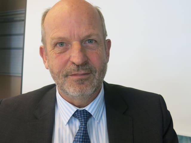 Jean Denis Chavaillaz, Chef des kantonalen Führungsorgans.