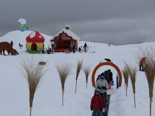 Ansicht des Kinderparks