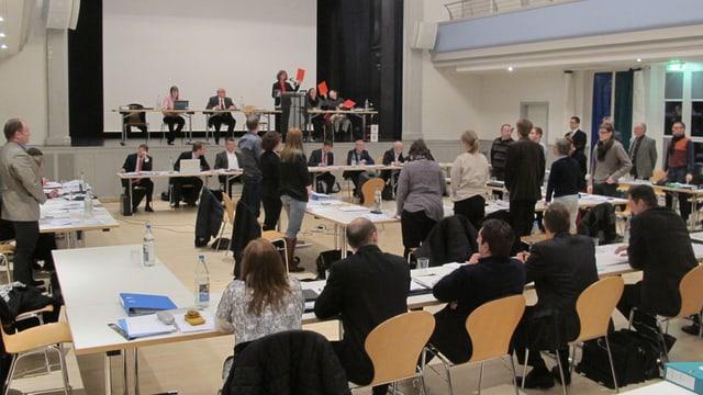 Sitzung Einwohnerrat Wohlen