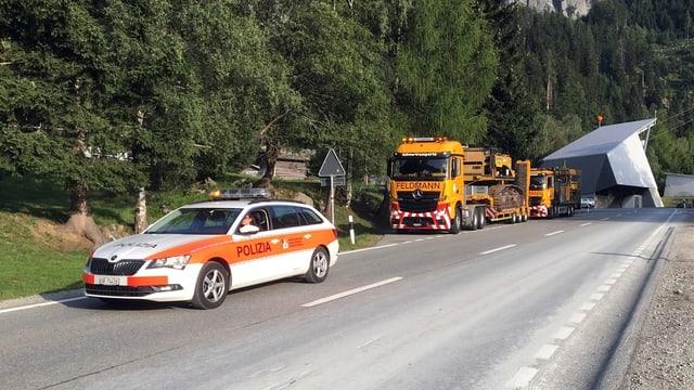 Transports grevs na ston en futur betg pli esser accumpagnads da la polizia chantunala.