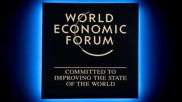 Purtret dal logo dal WEF.