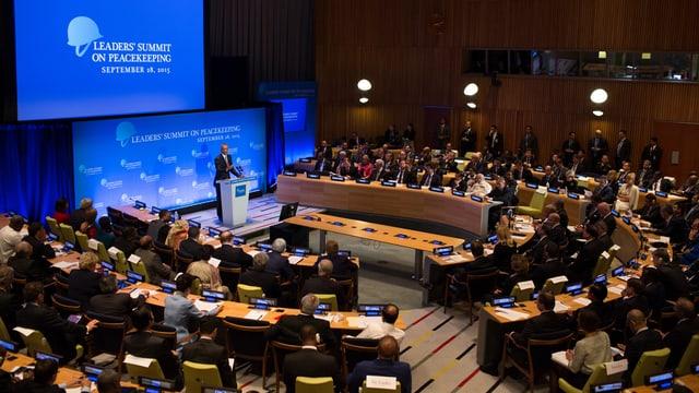 Inscunter plenar da las Naziuns Unidas.