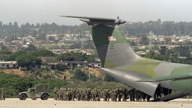 Truppen in LA