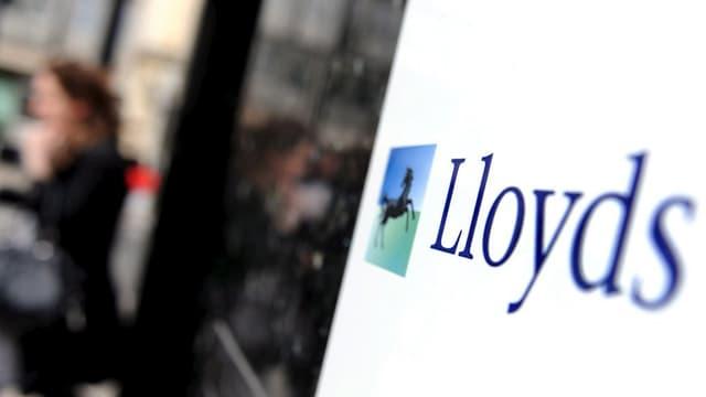 Firmenschild Lloyds