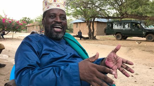 Haye Makorani-a-Mungase VII, der König der Pokomo