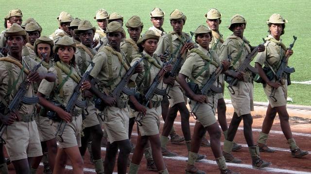 Eritreische Soldaten