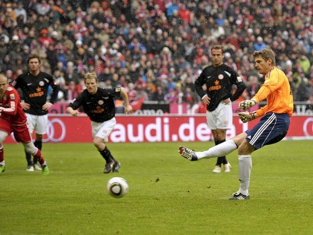 Goalie Hans-Jörg Butt.