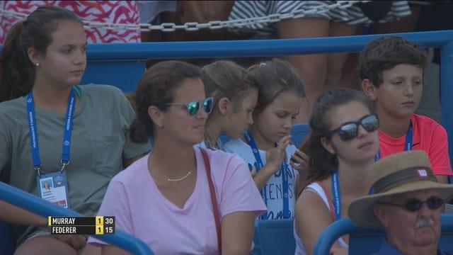 Die beiden älteren Federer-Zwillinge