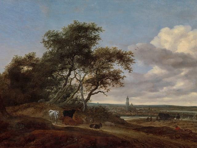 «Angesichts von Amersfoort» von Salomon van Ruysdael