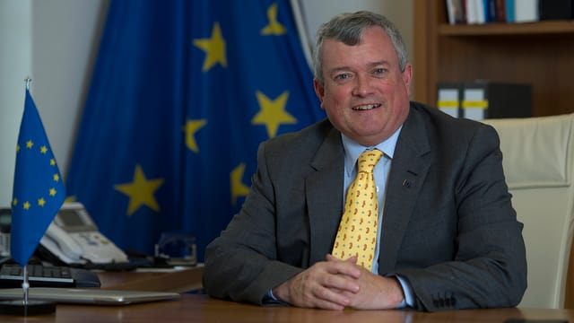 Richard Jones, EU-Botschafter in der Schweiz